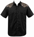 LEOPARD WESTERN - STEADY CLOTHING WESTERN HEMD