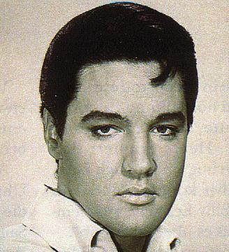 Elvis Presley - black/white