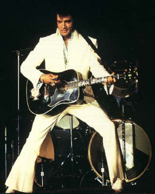 Elvis Presley - On Stage with Guitar