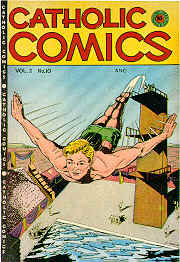 Weird Comics Covers - Catholic Comics