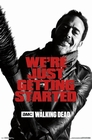 The Walking Dead Poster Negan mit Lucille