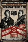 The Walking Dead Poster Grimes vs Negan Fight