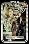 Star Wars Classic Poster Han and Chewie Retro